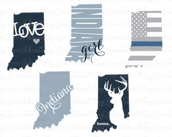 Indiana Life Design for Silhouette and other craft cutters (.svg/.dxf/.eps/.pdf)