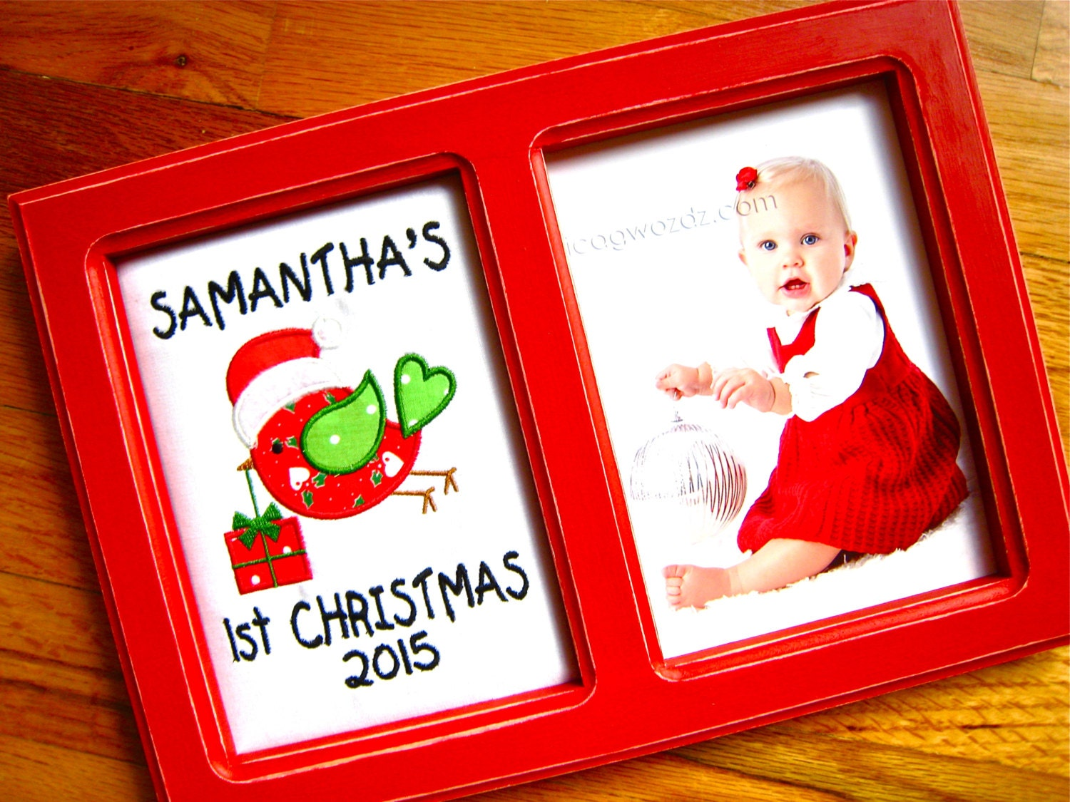 Babys First Christmas Gift Ideas For Grandparents : Baby christmas personalized frame s first