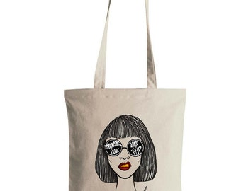 "Personalized ""Throwing shade since [your birth year]"" Tote Bag"