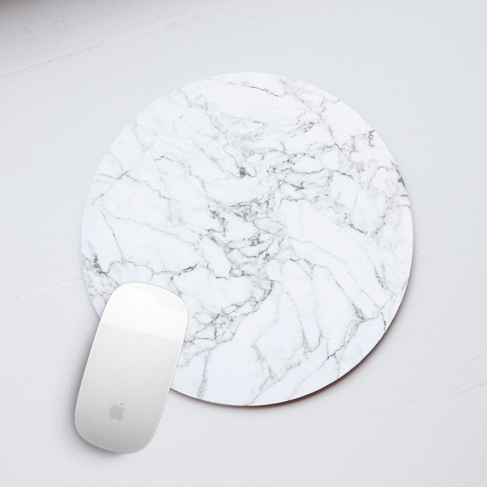 Marble Mouse Pad Marble Mousepad Mouse Mat White Mousemat