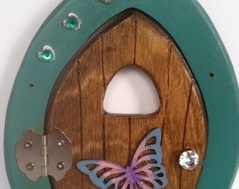 Fairy Door, Hearts and butterfly