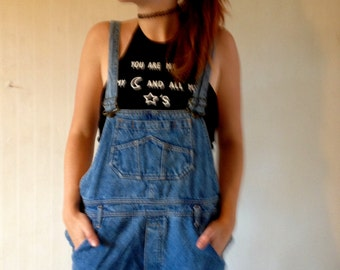 Vintage Denim Overall jeans 40 size