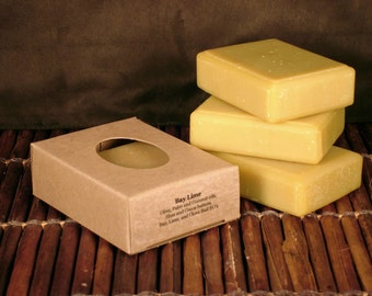 Bay Lime Handcrafted Soap