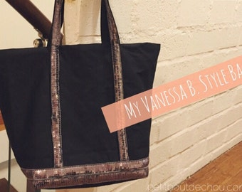 Vanessa B. Style Bag with Sequins