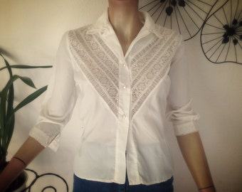 Blouse lace Vintage
