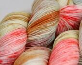 Handdyed merino yarn 100g/420m