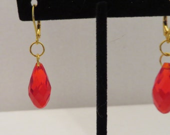Swarovski Crystal Bead Earrings