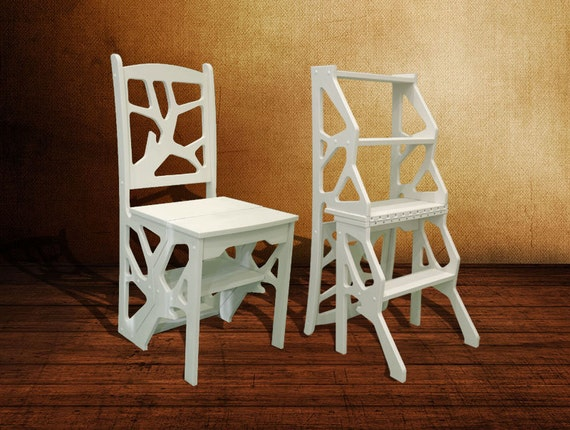 Step Stool Chair Chair Ladder Step Ladder Foot Stool