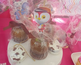 Sheriff Callie Candied Apples