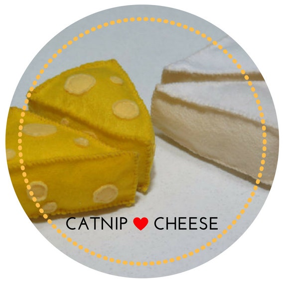 Cat Toy Cheese Wedge