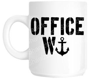 Office W**ker Secret Santa Funny Novelty Gift Mug SHAN761