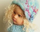 "Hat for Kish doll Riley or similar dolls 7"" - 8 "" for Tullah Zsu Zse Madame Alexander 8 inch"