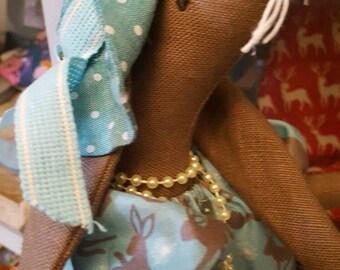 Lady Henrietta Hare Textile Sculpture
