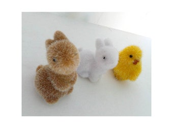 Little fairy door pals - a set of animal pets for the fairies - adorable