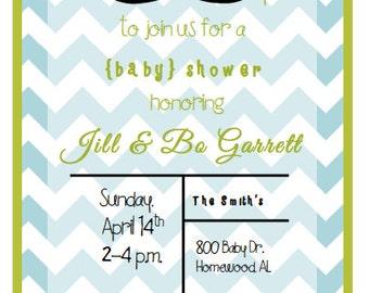 Boy Baby Shower Invite