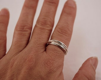 Sterling Silver Wrap Ring/ Jewelry (Non-local Purchases Only)
