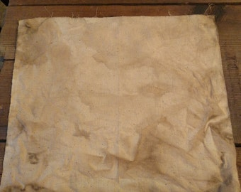Coffee Stained Hardanger Aida Cloth