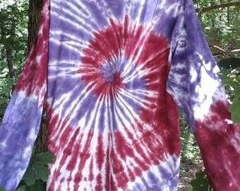 Purple Spirals/Short Sleeve
