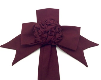 Plum Rosette Home Decor Wall Decor Home Decoration