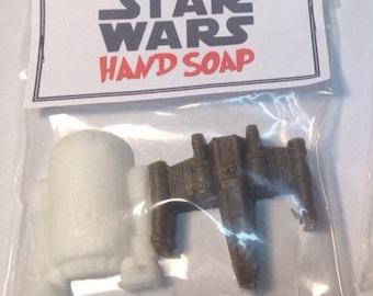 Star Wars party favor soap/star wars goodie bag /star wars