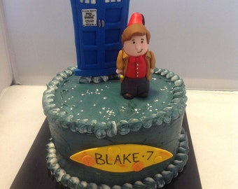 Doctor who Cake toppers