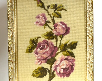 Beautiful Rose Counted Cross Stitch