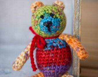 Tiny Hand Crocheted Bear