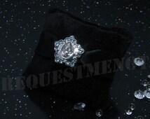 Beautiful Hand Crafted Genuine 925 Sterling Silver Sparkling Star Bracelet Charm for Pandora Bracelets