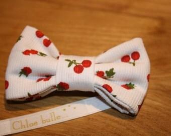 PIN cherry bowtie