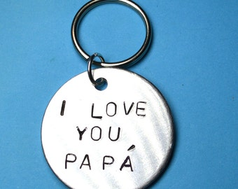 Father gift, Dad gift, Dad keyring,Daddy gift,LOVE YOU PAPA,Gift for papa, Gift for daddy, Gift for dad, Dad, Papa, Father keyring, Keychain