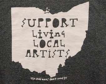 Support Living Local Artist (the dead ones don't need it)