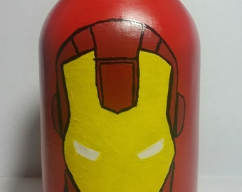 Iron Man Mason Jar