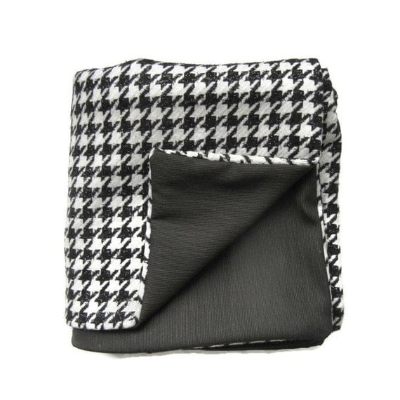 black and white tweed throw blanket. Black Bedroom Furniture Sets. Home Design Ideas