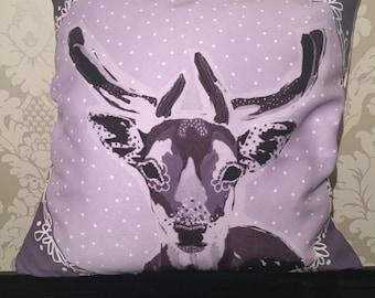Wondering Deer Cushion Cover