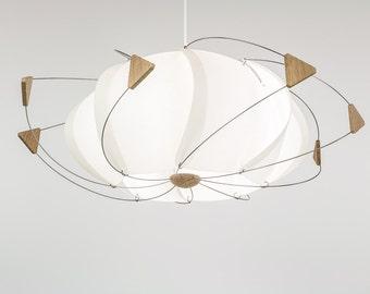 luminaire design chandelier suspension Volute