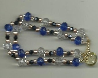 Blue Bridges Bracelet