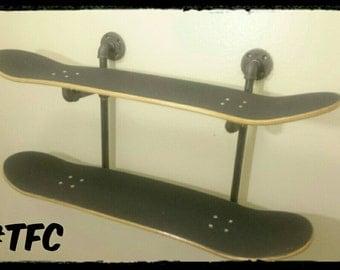 Skateboard Shelf skateboard shelf | etsy