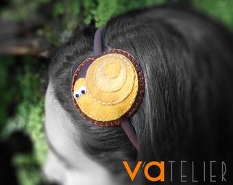 Jungle LOOPS headband Collection - Snail