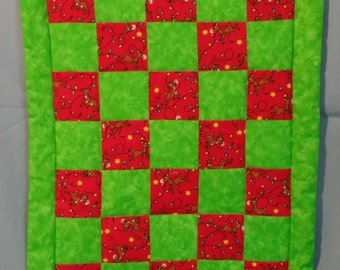 Chistmas Wall Hanging Quilt