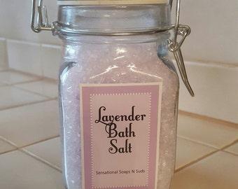 8oz. Lavender Bath Salt