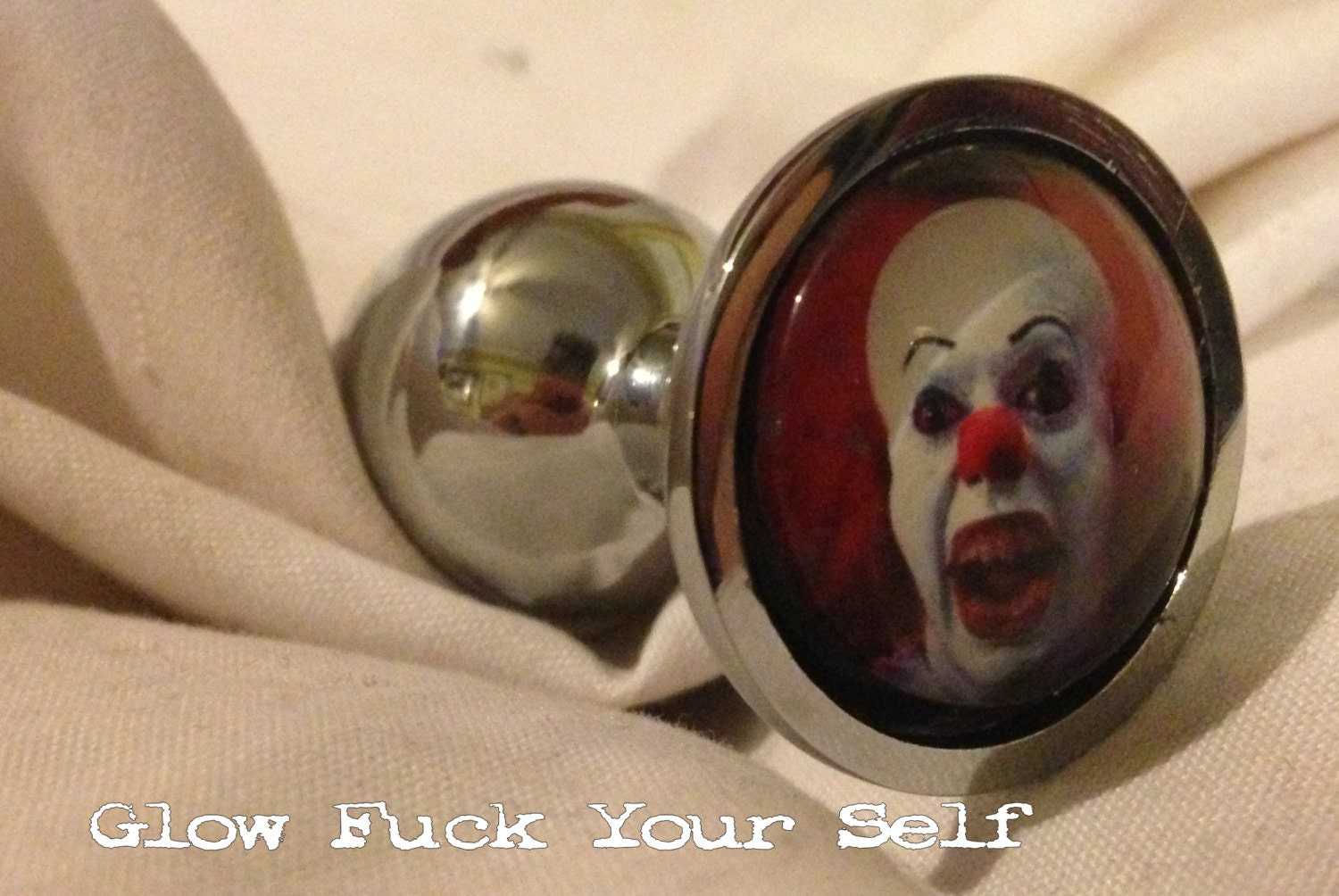 Mature Scary Clown Butt Plug Because Put It In Your Butt-9241