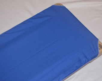 Child Cot Sheet/Daycare Cot Sheet in Red, Blue, Orange, Green, Pink, Purple, Yellow and White