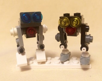 Micro Robot Minions: Xyzzy and Plugh (Lego)