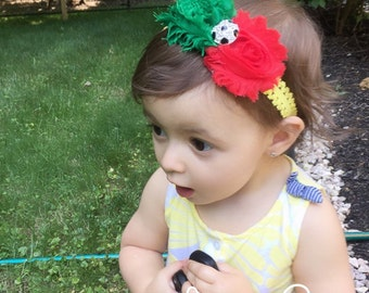 Portugal headband euro cup headband baby headband