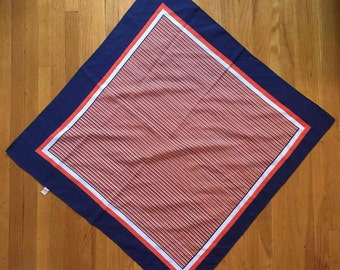 Vintage 26' silk Summer and rain scarf water repellent