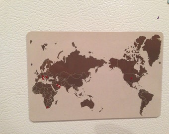 4 x 6 Magnet Add ON to exsisting purchased map