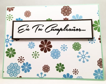 feliz cumpleanos  etsy, Birthday card