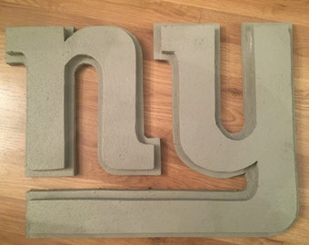 "New York Giants Foam ""Stone Textured"" Wall Logo"