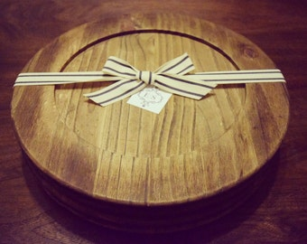 Wood Decorative Chargers