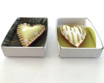 Heart Diorama, Matchbox Diorama, Matchbox Art, Valentine's Day Present, Small Present